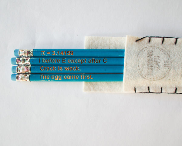 School Pencils Blue