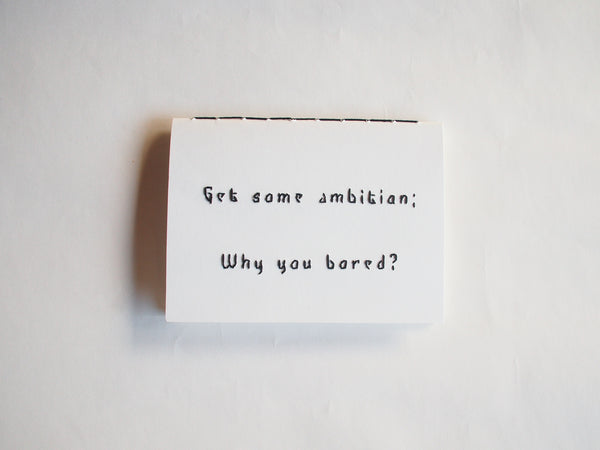 Get Some Ambition Notebook