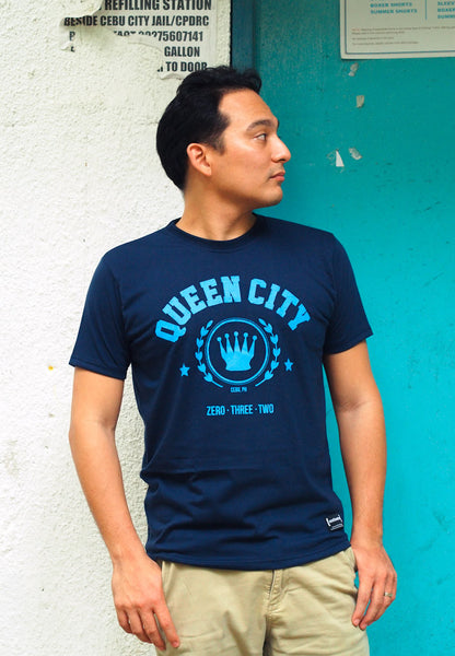 Queen City Men (Blue Shirt)