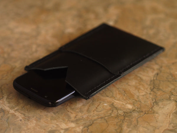 The Corgan - Genuine Leather Handmade Phone Wallet