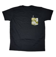 SUP Black Pocket Tee Men