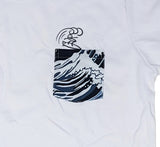 Surf White Pocket Tee Women