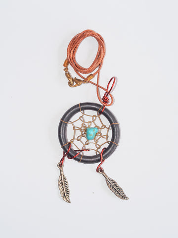 Wired Weaved Dreamcatcher Necklaces