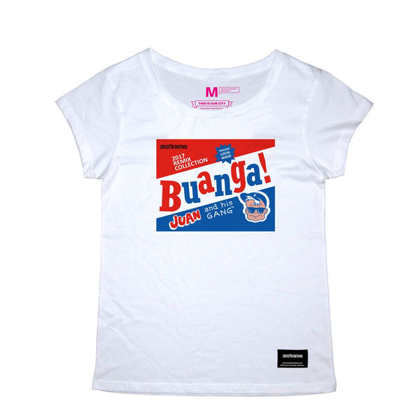 Buanga Gum White Women T-Shirt
