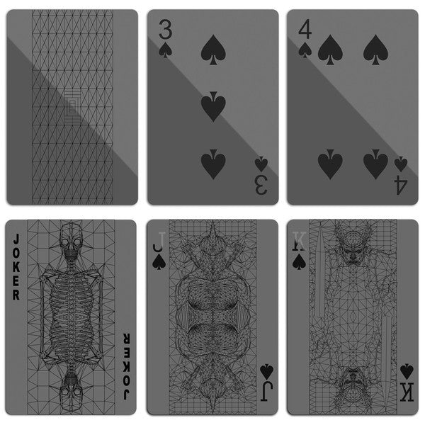 Cool Black Playing Cards