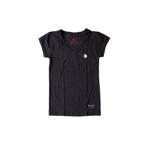 Circle Crest Charcoal Women T-Shirt [PRE-ORDER]