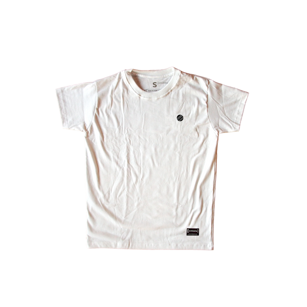 Circle Crest White Men T-Shirt
