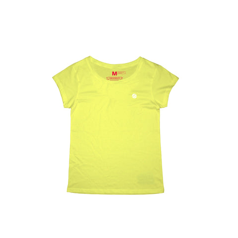 Circle Crest Yellow T-Shirt Women
