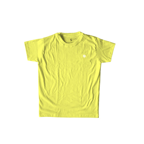 Circle Crest Yellow T-Shirt Men