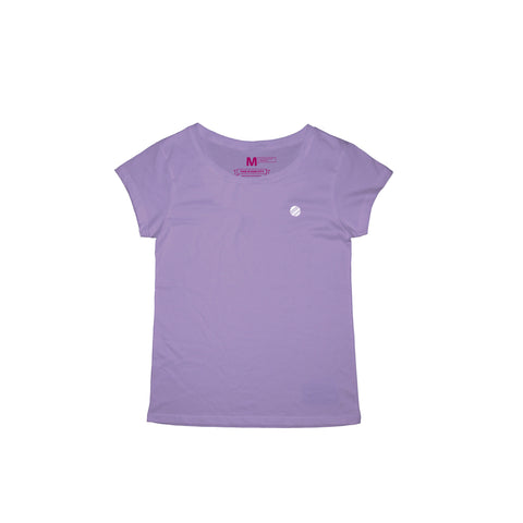 Circle Crest Lavender T-Shirt Women