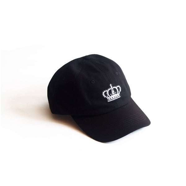 Crown Dad Hat Black