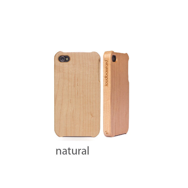 iPhone 4s Wood Case (Natural)