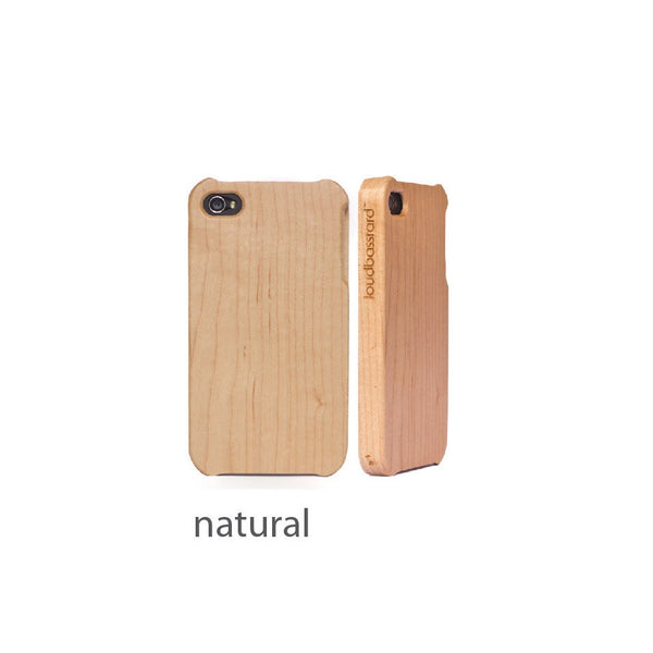 iPhone 5/5s Wood Case (Natural)