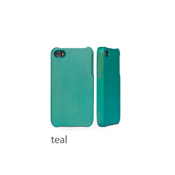 iPhone 5/5s Wood Case (Teal)
