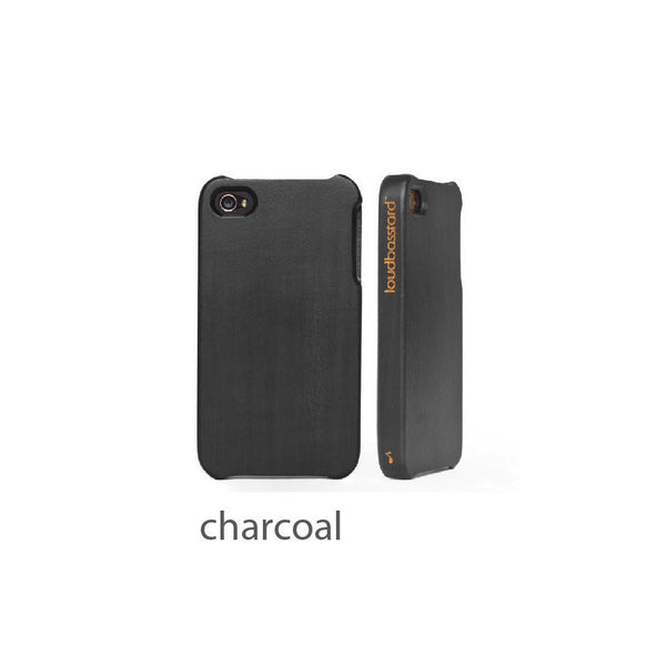 iPhone 5/5s Wood Case (Charcoal)