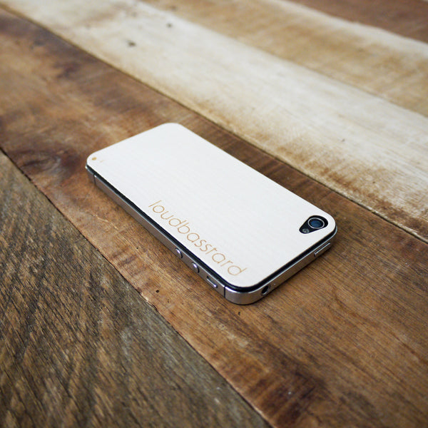 iPhone 4s Wood Skin