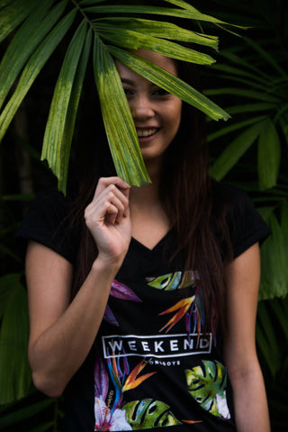 Weekend Black T-Shirt Women