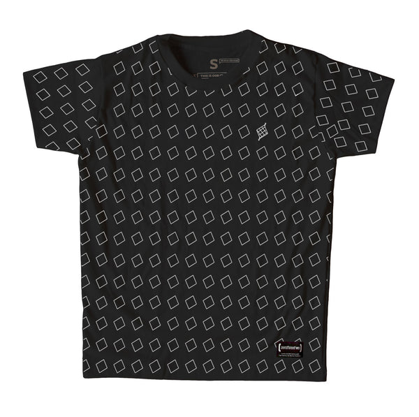 Puso Pattern Black Men T-Shirt
