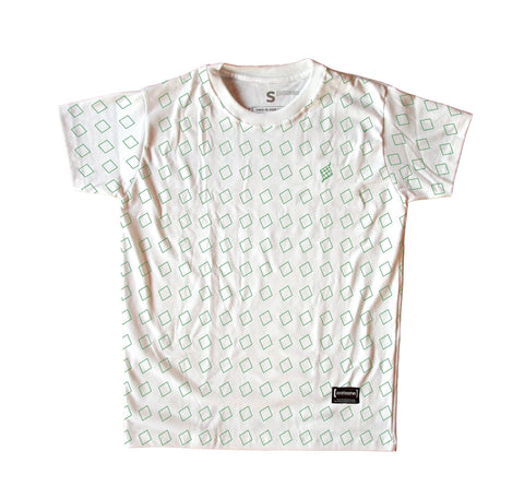 Puso Pattern White Men T-Shirt