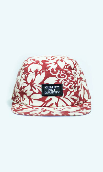 Quality Not Quantity (Five-panel cap)
