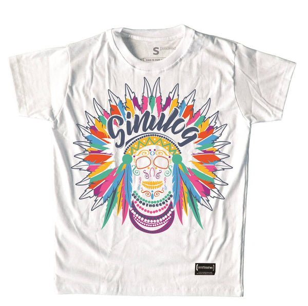 Skull Sinulog 2019 T-Shirt White