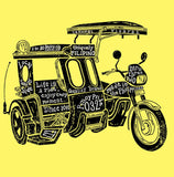 Trike the Pinoy Way (Yellow Shirt Men)