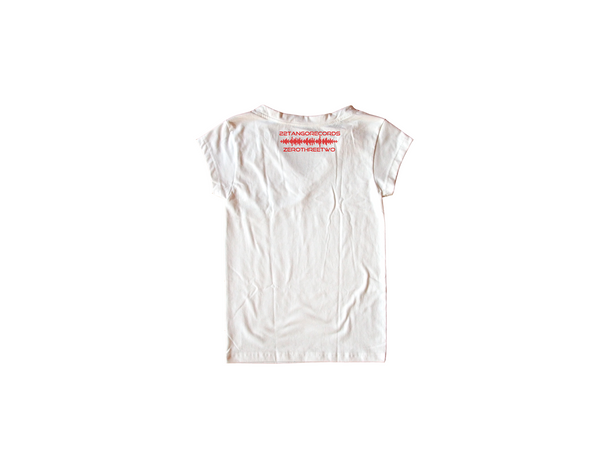 No Promises White Women Shirt