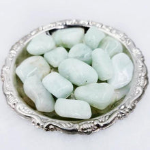 Load image into Gallery viewer, Aquamarine Tumbled Stone