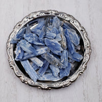 Blue Kyanite Blade Stone Rough Small