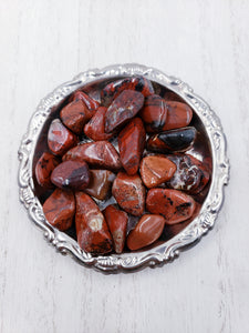 Brecciated Red Jasper Crystal