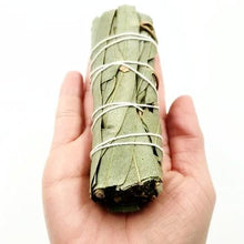 "Load image into Gallery viewer, Eucalyptus Smudge Wand Stick 4"" - Incense and Herbs"