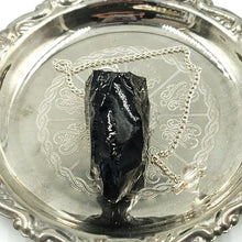 Load image into Gallery viewer, Black Obsidian Pendulum Rough - Elevated Metaphysical