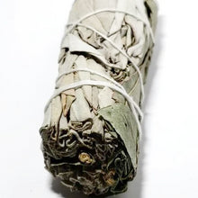 "Load image into Gallery viewer, White Sage & Eucalyptus Smudge Wand Stick 4"" - Incense and Herbs"