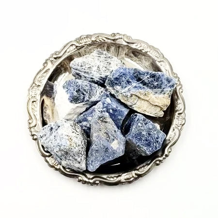 Sodalite Rough Stone - Rough Stones - Elevated Metaphysical
