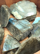 Load image into Gallery viewer, Labradorite Slab Stone Piece