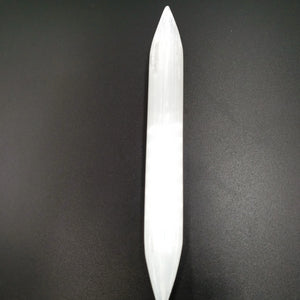 Selenite DT Wand Double Terminated Dagger