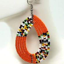 Load image into Gallery viewer, Beaded Earrings Handmade Fashion Jewelry