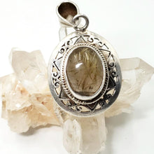 Load image into Gallery viewer, Rutilated Quartz Sterling Silver Pendant