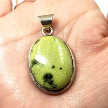 Load image into Gallery viewer, Nephrite Jade Sterling Silver Pendant - Elevated Metaphysical