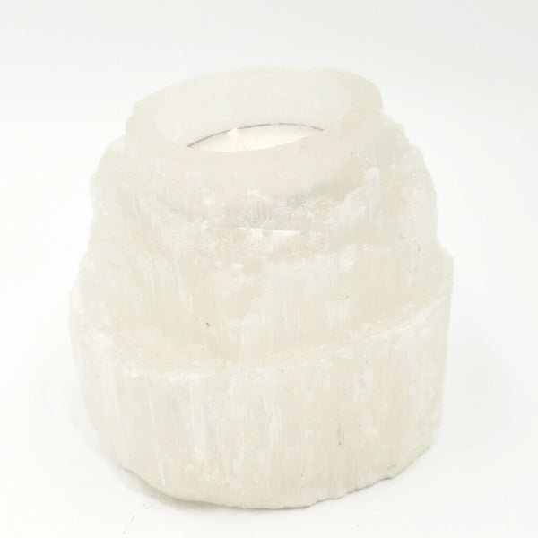 Selenite Tier Tower Candle Holder Succulent Holder Tiere
