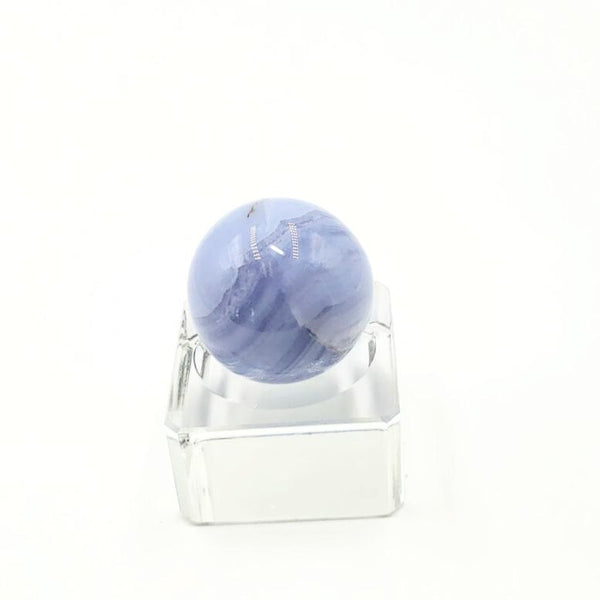 Blue Lace Agate Sphere 31.8 mm 44.0 g