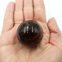 "Red Tiger Eye Sphere 35mm 1.35"" 61g 2.2oz"