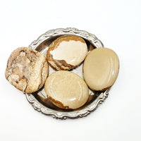 Picture Jasper Palm Stone Smooth Stone Round Stone