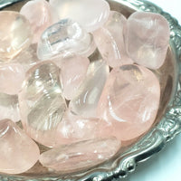"Rose Quartz Tumbled Stone ""AA"" Quality"
