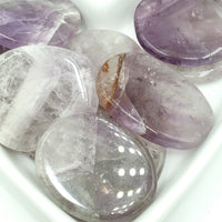 Amethyst Palm Stone Smooth Stone Round Stone Worry Stone