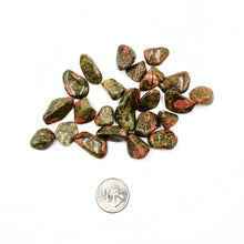 Load image into Gallery viewer, Unakite Tumbled Stone