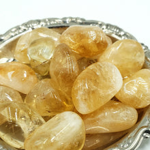 Load image into Gallery viewer, Citrine Tumbled Stone