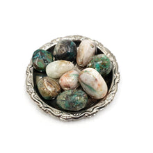 Load image into Gallery viewer, Chrysocolla with Quartz Tumbled Stone