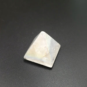 Aura Clear Quartz Pyramid Aura Quartz - Elevated Metaphysical