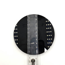 "Load image into Gallery viewer, Black Obsidian Mirror Plate 4.75"" 120mm - Crystal/Stone Decor"